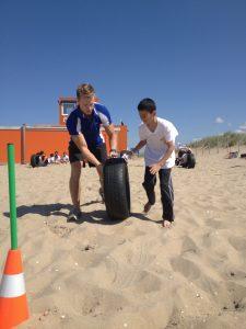 Bootcampactiviteit voor de zomerschool, Kijkduin